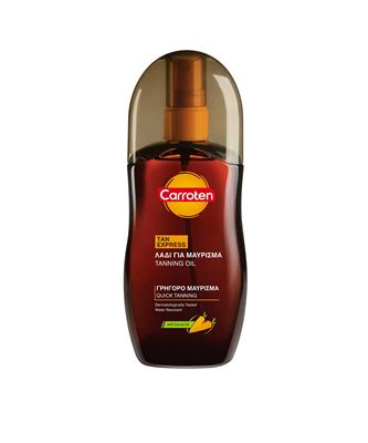 Picture of CARROTEN QUICK & DEEP TAN EXPRESS OIL SPF0 125ML