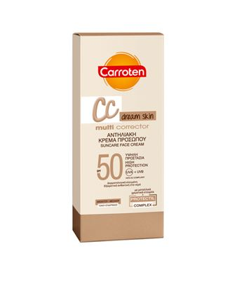 Picture of CARROTEN CC MULTI CORRECTOR SUNCARE FACE CREAM SPF50 50ML