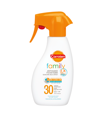 Picture of CARROTEN FAMILY PROTECTION TRIGGER SPRAY SPF30 300ML