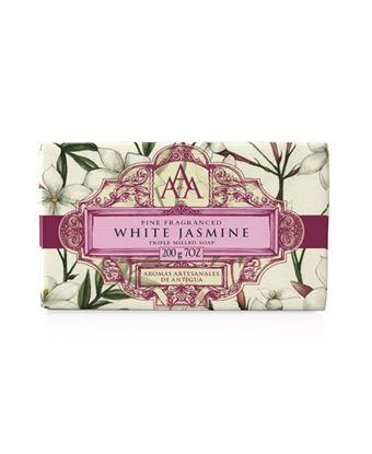 Picture of Floral White Jasmine Soap 200g