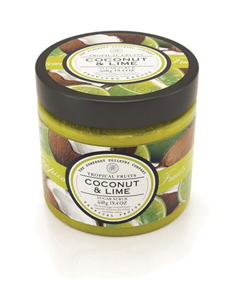 Picture of COCONUT & LIME SUGAR SCRUB 550G