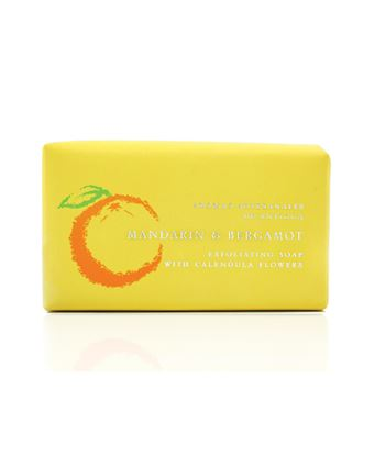 Picture of Exfoliating Mandarin & Bergamont Soap 200g
