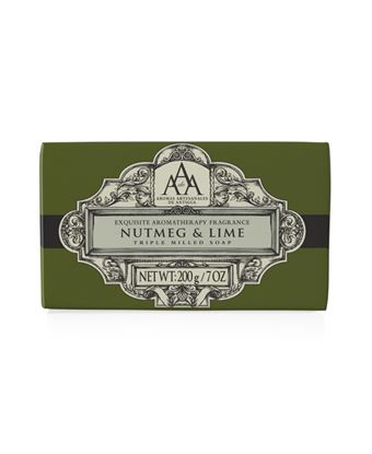 Picture of Aromatherapy Nutmeg & Lime Soap 200g