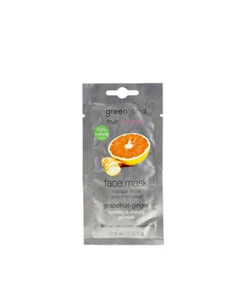 Picture of Face Gel mask with apricot seed pits ,Grapefruit - Ginger