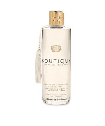 Picture of BOUTIQUE NECTARINE BLOSSOM & GRAPEFRUIT SHOWER GEL 500ML