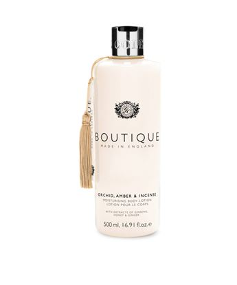 Picture of BOUTIQUE ORCHID, AMBER & INCENSE BODY LOTION 500ML