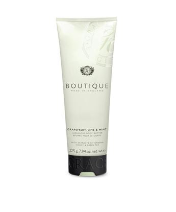 Picture of BOUTIQUE GRAPEFRUIT, LIME & MINT  BODY BUTTER  225GR
