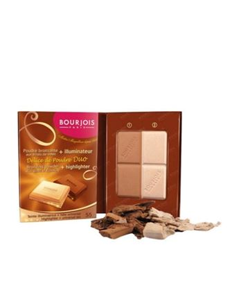 Picture of BOURJOIS DELICE DE POUDRE BROZING POWDER & HIGHLIGHTER