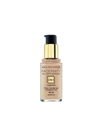 Picture of FACE FINITY ALL DAY FLAWLESS 3 IN 1 FOUNDATION 50 NATURAL