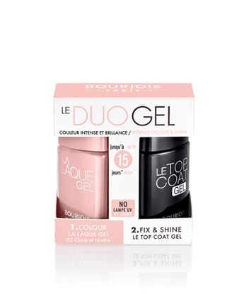 Picture of BOURJOIS LA LAQUE GEL KIT T06 + TOP COAT