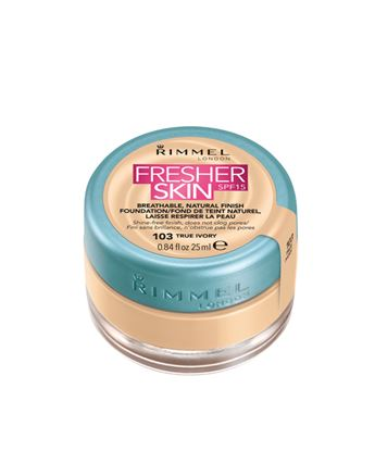 Picture of RIMMEL FRESHER SKIN FOUNDATION TRUE IVORY