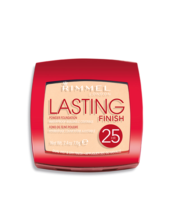 Picture of RIMMEL LASTING FINISH POWDER FOUNDATION SOFT BEIGE