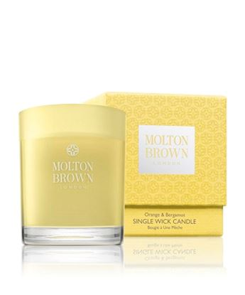 Picture of Molton Brown Orange & Bergamot Single Wick Candle