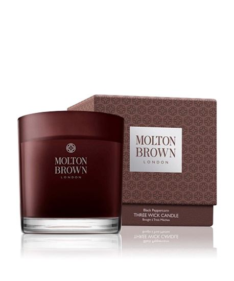 Picture of Molton Brown Black Pepper 3 Wick Candle