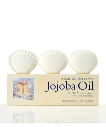 Picture of Jojoba Oil Triple Milled Shell Soap 3x100g