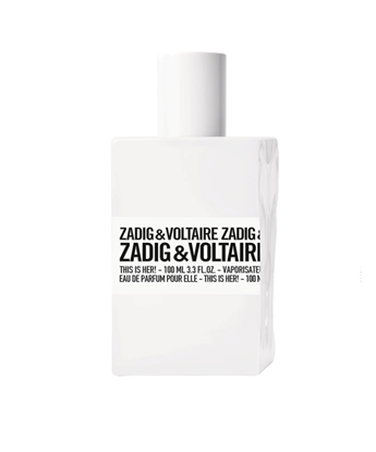 Picture of ZADIG&VOLTAIRE THIS IS HER EDP 100ML