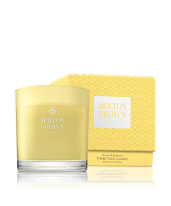 Picture of Molton Brown Orange & Bergamot 3 Wick Candle