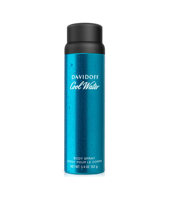 21d30bcda2ba DAVIDOFF COOL WATER BODY SPRAY CAN 150ml   Beauty Line   Shop Makeup ...