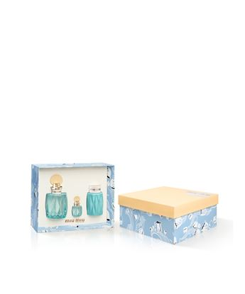 Picture of MIU L'EAU BLEUE EDP + BODY LOTION 100ML + MINI