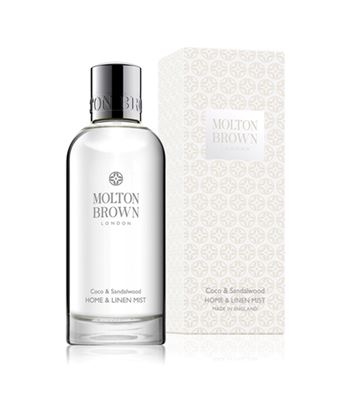 Picture of Molton Brown Coco & Sandalwood Linen & Room Spray 100ML
