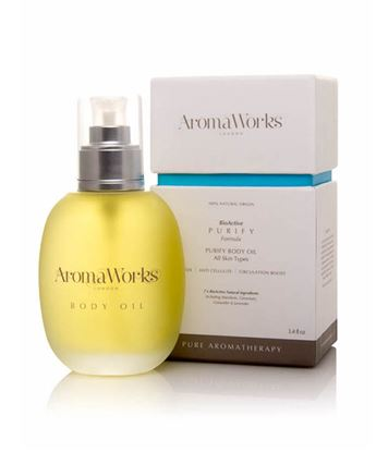 Picture of AROMAWORKS LONDON PURIFY MASSAGE OIL 100ML (DETOX)