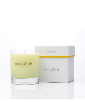 Picture of AROMAWORKS LONDON  MEDIUM 30CL CANDLES (SERENITY)