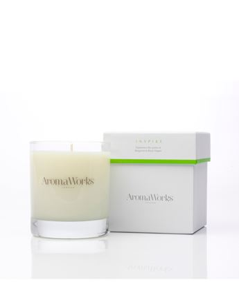 Picture of AROMAWORKS LONDON  MEDIUM 30CL CANDLES (INSPIRE)
