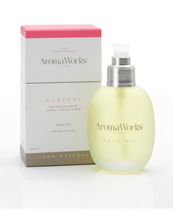 Picture of AROMAWORKS LONDON BATH OIL (NURTURE) 100ML
