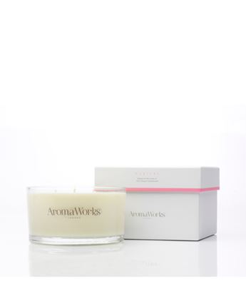 Picture of AROMAWORKS LONDON LARGE 3 WICK CANDLES (NURTURE) 400GR
