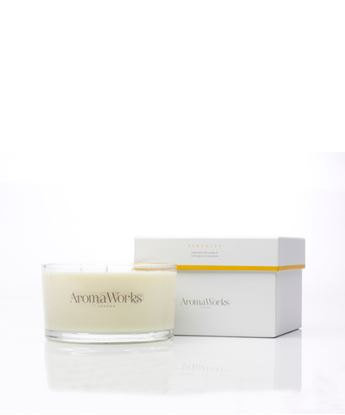 Picture of AROMAWORKS LONDON LARGE 3 WICK CANDLES (SERENITY) 400GR
