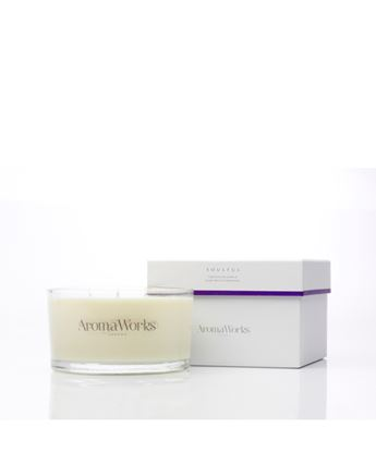 Picture of AROMAWORKS LONDON LARGE 3 WICK CANDLES (SOULFUL) 400GR