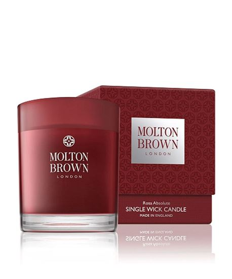 Picture of Molton Brown Rosa Absolute 1 Wick Candle