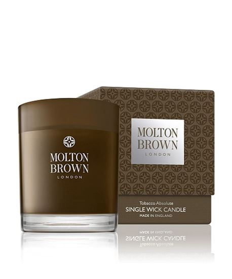 Picture of Motlon Brown Tobacco Absolute 1 Wick Candle