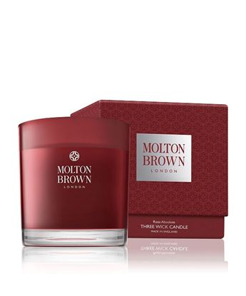 Picture of Molton Brown Rosa Absolute 3 Wick Candle