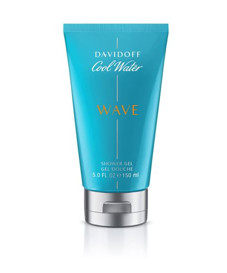 Picture of DAVIDOFF COOL WATER WAVE MAN SHOWER GEL 150ML
