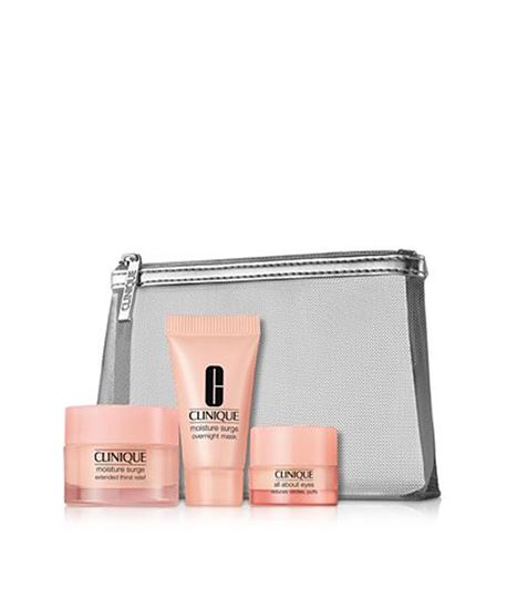 Picture of Hello, moisture. Hello hydration. Clinique Moisture Surge Boxed Gift Set