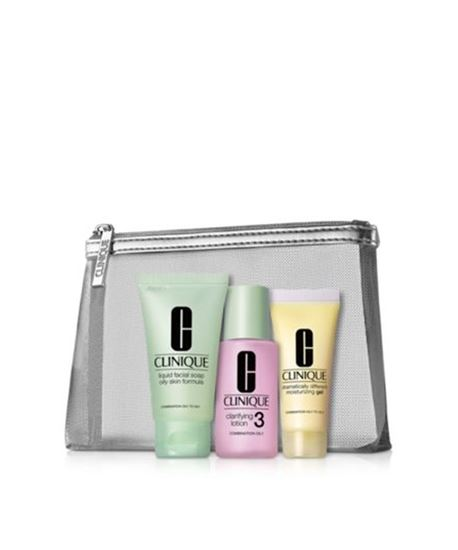 Picture of Hello, great skin. Clinique 3-Step Skin Type 3/4 Boxed Gift Set