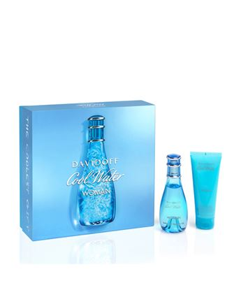 Picture of DAVIDOFF COOL WATER WOMAN XMAS17 EDT50ml + BL75ml