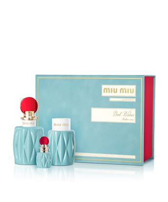 Picture of MIU MIU1 XMAS17 EDP 100ml + 7.5 ml + BODY LOTION 100ml