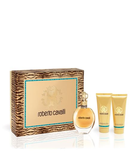 Picture of ROBERTO CAVALLI XMAS17 EDP 75ml + BODY LOTION 75ml + SHOWER GEL75ml