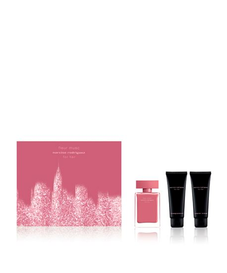 Picture of HER FLEUR MUSC XMAS 2017 EDP 50ML+BODY LOTION+SHOWER GEL
