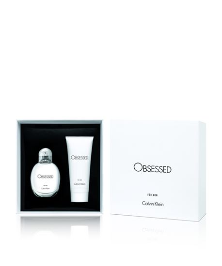 Picture of CK OBSESSED MAN XMAS17 EDP 75ml + HBW100ml