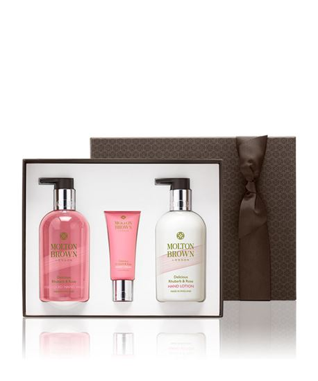 Picture of Delicious Rhubarb & Rose Hand Gift Set