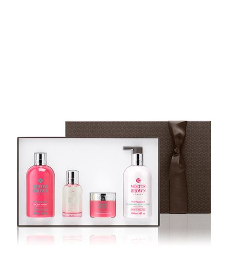 Picture of Fiery Pink Pepper Pampering Body Gift