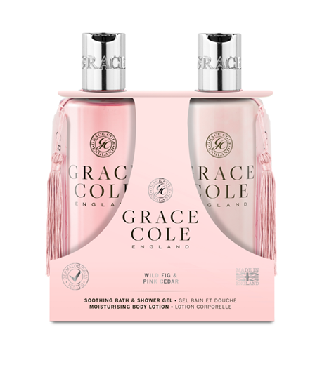 Picture of Wild Fig & Pink Cedar 300ml Body Care Duo