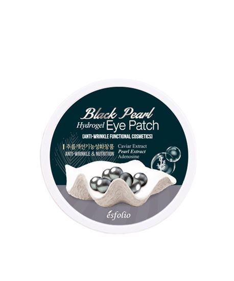Picture of Esfolio Black Pearl Hydrogel Eye Patch