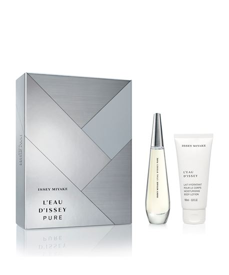 Picture of L'EAU D'ISSEY PURE SET (EDP 50ML+BODY LOTION 100ML) SET