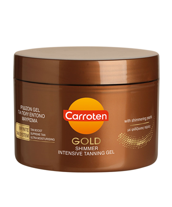 Picture of CARROTEN INTENSIVE GOLD SHIMMER TANNING GEL 150ML
