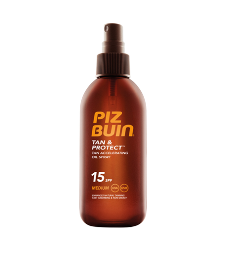 Picture of Piz Buin® Tan & Protect™ Tan Accelerating  Oil Spray SPF15