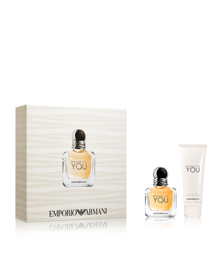 Picture of EMPORIO ARMANI BECAUSE IT'S YOU SET